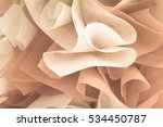 Stock photo abstract beautiful rose gold color 534450787