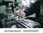 metallurgy industry. factory...   Shutterstock . vector #534452605