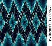 chevron pattern. ethnic zigzag... | Shutterstock .eps vector #534470239