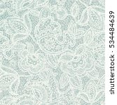 lace floral pattern. light... | Shutterstock .eps vector #534484639