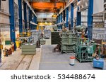 manufacturing of high voltage... | Shutterstock . vector #534488674