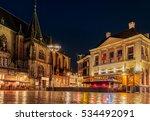evening view of the dutch... | Shutterstock . vector #534492091