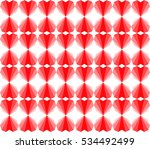 vector. seamless pattern with... | Shutterstock .eps vector #534492499