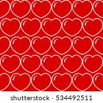 vector. seamless pattern with... | Shutterstock .eps vector #534492511