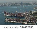 Istanbul July 2015 Air View At...