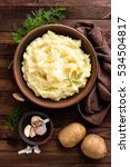 mashed potato | Shutterstock . vector #534504817