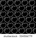 vector. seamless pattern with... | Shutterstock .eps vector #534506779