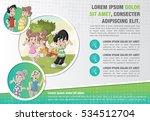 template for advertising... | Shutterstock .eps vector #534512704
