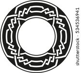 celtic pattern. element of...
