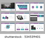 abstract presentation templates ... | Shutterstock .eps vector #534539401