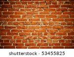 Abstract Close Up Brick Wall...