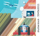 innovative technologies in... | Shutterstock .eps vector #534563311