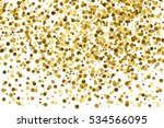 Gold Glitter Texture Isolated...