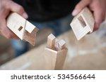 detail of a furniture maker...