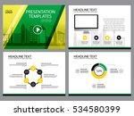 business template design set...   Shutterstock .eps vector #534580399