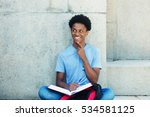 african young adult male student | Shutterstock . vector #534581125