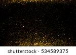 golden glitter texture... | Shutterstock . vector #534589375