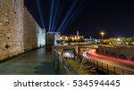 Tower Of David  Night ...