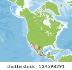 mexico is a federal republic... | Shutterstock . vector #534598291