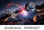 Space Shuttle Ship Satellite...
