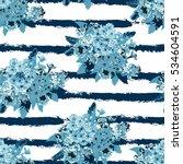 elegant seamless pattern with... | Shutterstock .eps vector #534604591