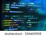 software computer programming... | Shutterstock . vector #534605905