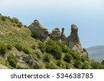 unusual rocks in the valley of... | Shutterstock . vector #534638785