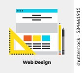 web design flat icon. material...