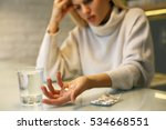 close up of woman hands holding ... | Shutterstock . vector #534668551