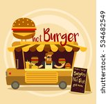 vector cartoon style... | Shutterstock .eps vector #534682549
