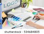 logo design brand designer... | Shutterstock . vector #534684805