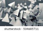 abstract 3d rendering of... | Shutterstock . vector #534685711