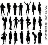 group over white | Shutterstock . vector #53468722