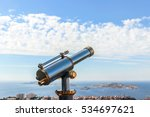 Sightseeing Telescope With The...