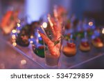 beautifully decorated catering... | Shutterstock . vector #534729859