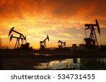 oil pump  oil industry equipment | Shutterstock . vector #534731455