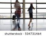 passenger in the airport | Shutterstock . vector #534731464