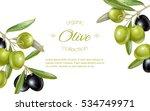vector horizontal banner with... | Shutterstock .eps vector #534749971