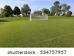 a view of a net on a vacant... | Shutterstock . vector #534757957