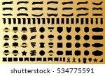 label ribbon banner black... | Shutterstock .eps vector #534775591