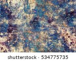 hand painted acrylic seamless... | Shutterstock . vector #534775735