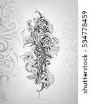 floral ornament | Shutterstock .eps vector #534778459