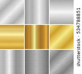 vector metal textures set.... | Shutterstock .eps vector #534788851
