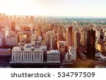 aerial view of the new york... | Shutterstock . vector #534797509