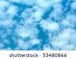 blue sky | Shutterstock . vector #53480866