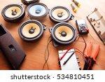 tweaking audio. car audio... | Shutterstock . vector #534810451
