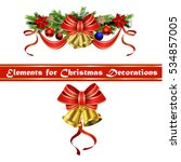 christmas elements for your... | Shutterstock .eps vector #534857005