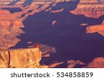 hike in grand canyon national... | Shutterstock . vector #534858859