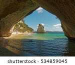 cathedral cove is part of a...