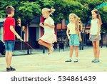 happy kids in school age... | Shutterstock . vector #534861439